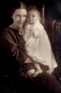 Fanny Stern mit Heinz.