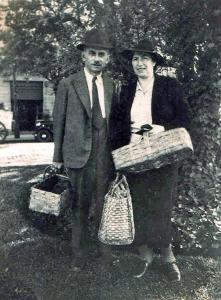 Fanny und Julius Stern in Brasilien.