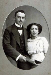 Fanny und Julius Stern.